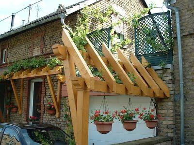 Pergola und Vordach