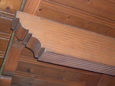 Detail Pfettenkopf