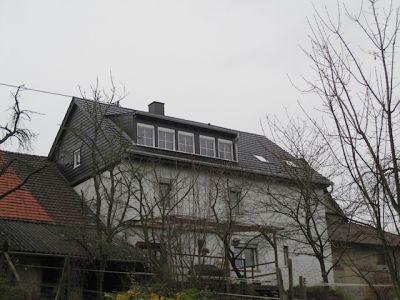 Umbau eines alten Dachstuhls mit Gaube und neuen Ziegeln IX