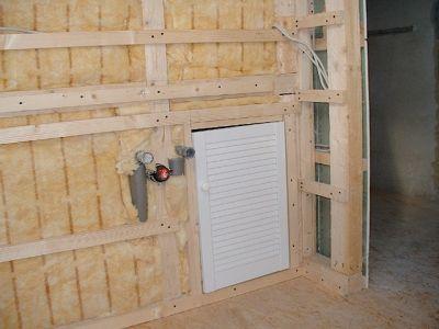 Innenausbau: Holzrahmenbau mit Isolierung und Rigips III