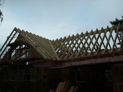 Umbau: wie aus einem alten Gebälk ein moderner Dachstuhl wird III