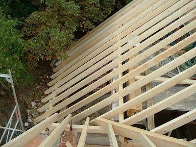 Umbau: wie aus einem alten Gebälk ein moderner Dachstuhl wird IV