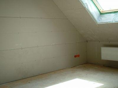 Dachinnenausbau mit Rigips II
